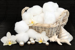 Cotton Balls Stock Photography