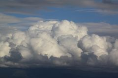 Cotton Balls in the Sky Stock Photo