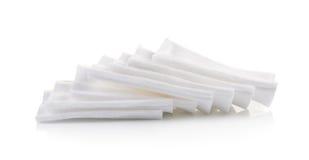 Cotton bandage on white background Royalty Free Stock Image
