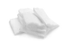 Cotton bandage on white background Stock Photo