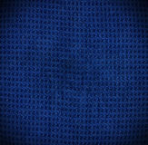 Cotton. Blue embossed cotton texture or background Royalty Free Stock Images