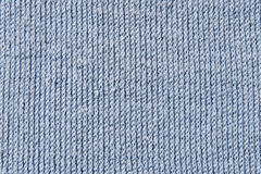 Cotton blue fabric Royalty Free Stock Photography