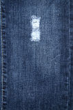 Cotton blue jeans texture Royalty Free Stock Photo