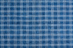 Cotton Blue and White Striped Cloth Background Stock Images