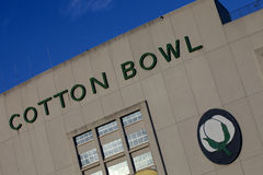 Cotton Bowl Stadium Stock Photography