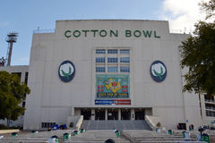 Cotton Bowl at Texas State Fair Stock Photos