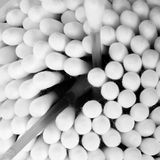 Cotton Buds Close Up Royalty Free Stock Images