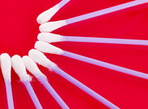 Cotton buds Royalty Free Stock Image
