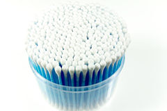 Cotton buds Royalty Free Stock Images
