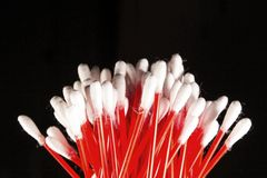 Cotton buds. Stock Photos