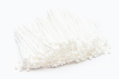 Cotton buds white cleaning tool Royalty Free Stock Photo