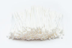 Cotton buds white cleaning tool Stock Photos
