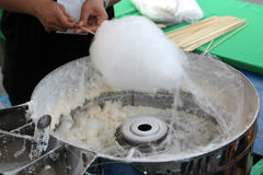 Cotton candy Stock Images
