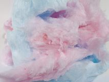 Cotton Candy. Close up shot of pink and blue cotton candy Background Texture Shot with a Fuji FinePix S5100 At native resolution of 2272X1704 and has not been royalty free stock photo