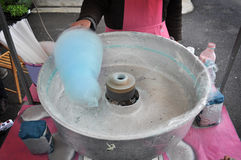 Cotton candy machine Royalty Free Stock Image