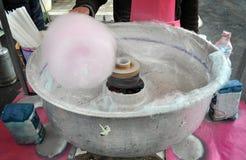 Cotton candy machine Stock Image