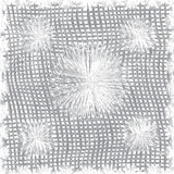 Cotton cloth weave seamless pattern in grey colors Stock Photography