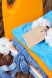Cotton clothes Stock Photo