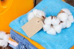 Cotton clothes Royalty Free Stock Photo