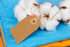 Cotton clothes Stock Photos