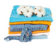 Cotton clothes Stock Photography