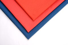 Cotton cloths with different colors Royalty Free Stock Image