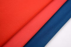 Cotton cloths with different colors Stock Image