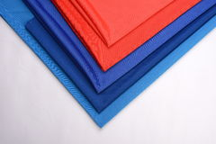 Cotton cloths with different colors Royalty Free Stock Images