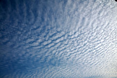 Cotton Clouds Background Stock Photo