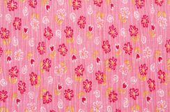 Cotton colorful floral background Royalty Free Stock Image
