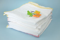 Cotton Diapers Stock Images