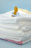 Cotton Diapers Stock Photo