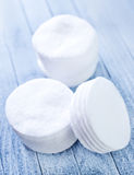 Cotton disks Royalty Free Stock Image