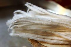 Cotton diya essentials Stock Image