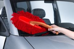 Cotton duster Stock Images
