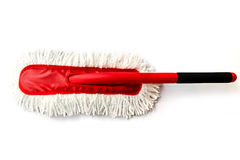Cotton duster for cleaning a car Stock Images