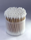 Cotton ear buds Stock Images