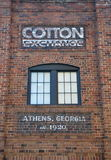 Cotton Exchange in Athens, Georgia, USA Stock Photo