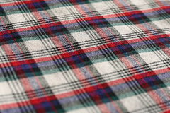Cotton fabric close-up Royalty Free Stock Photo