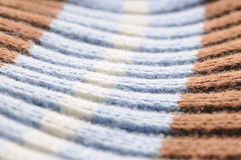 Cotton fabric texture Stock Photos
