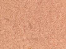 Cotton Fabric Texture - Peach Royalty Free Stock Photo