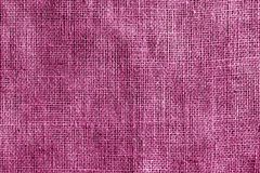 Cotton fabric texture in pink color. Abstract background and texture Stock Images