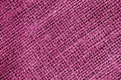 Cotton fabric texture in pink color. Abstract background and texture Royalty Free Stock Image