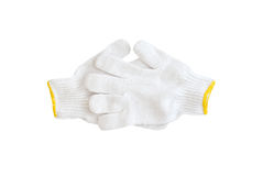 Cotton gloves Royalty Free Stock Photo