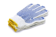 Cotton Gloves Stock Image