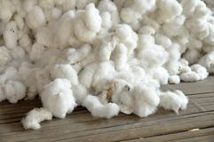 Cotton Group Raw Material Pill Stock Photo
