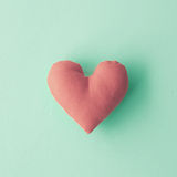 Cotton Heart Stock Image