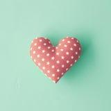 Cotton Heart Stock Photo