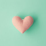 Cotton Heart Royalty Free Stock Images