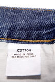 Cotton label Stock Photo